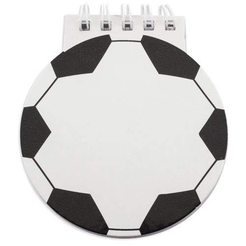 Lote de 50 Libretas Infantiles FÚTBOL - Libretas Originales Balón Futbol, Diseño...