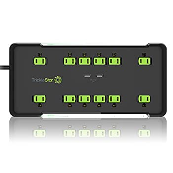 12-Outlet PRO Series Surge Protector with 2 USB Charging Ports