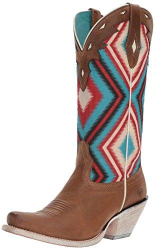 Ariat Women's Circuit Cheyenne Western Cowboy Boot, Ranch Tan, 11 B US