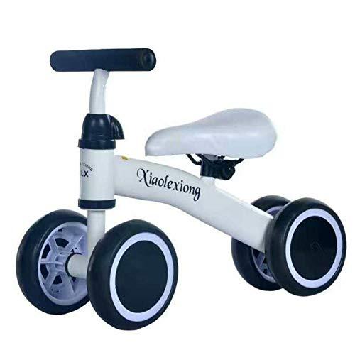 Jinclonder Bicicletas de Equilibrio para bebés Bicicleta, Caminante para niños 10 Meses -36 Meses Juguetes para 1 año de Edad Sin pedaleo Infantil 4 Ruedas Niño Primer cumpleaños de Primer año