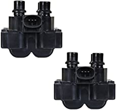 ENA Set of 2 Ignition Coil Pack Compatible with Ford Mercury Lincoln Contour E-150 Escort Explorer Mustang Ranger Town Car Mark VIII 626-C924 Replacement for FD487