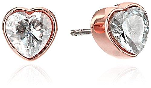 Michael Kors Rose Gold Modern Brilliance Post Stud Earrings