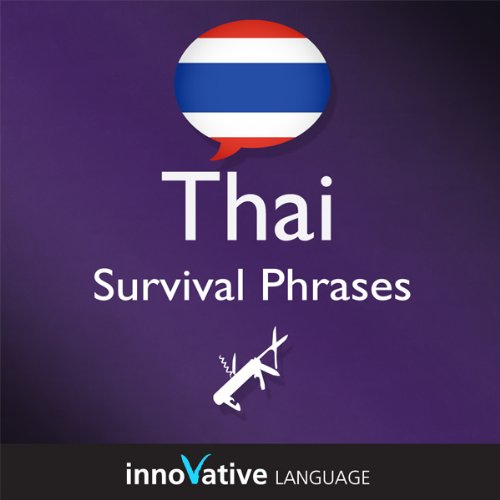 Learn Thai - Survival Phrases Thai, Volume 2: Lessons 31-60 audiobook cover art