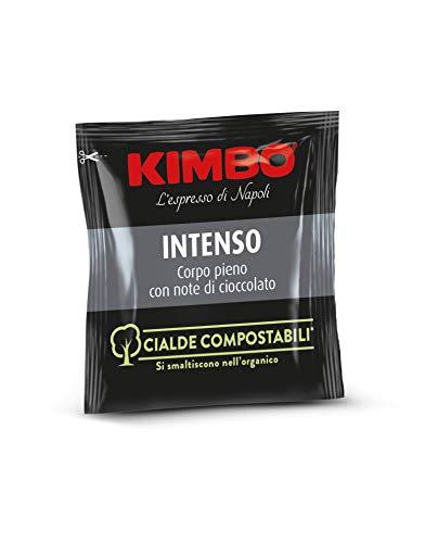 Kimbo Espresso \'Intenso\', 100 ESE Pads / Espresso Pods / Cialde, 100 Stück, 700 g