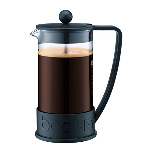 Bodum Brazil French Press Coffee and Tea Maker, 34 Ounce, Black