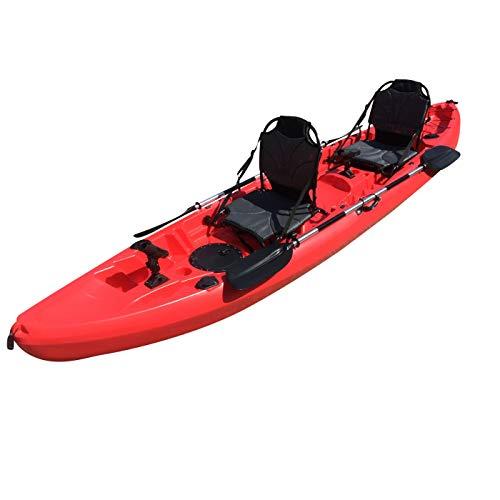 Cambridge Kayaks ES, Sun Fish TÁNDEM SÓLO 2 + 1,Rojo, RIGIDO