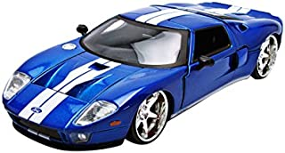 Jada Ford Gt Fast & Furious 7 Movie 1: 24 Diecast Model