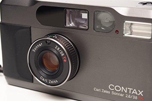 Contax T2 Titanium Black 35mm Film Camera