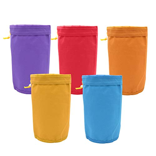 WE-WHLL 5 stuks filter bubble bag tuin groeien hash herbal ijs essence extractor kit tassen