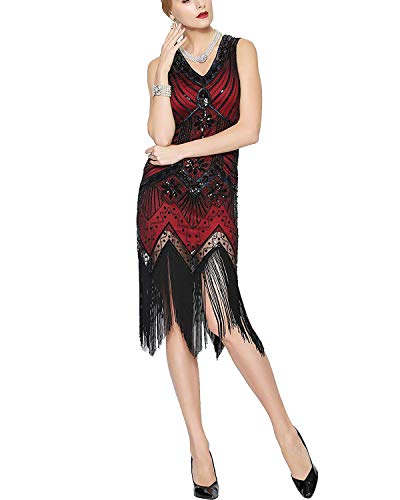 1920s Great Gatsby Dresses for Women $25.19 (40% Off at checkout)