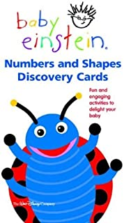 Numbers and Shapes Discovery Cards (Baby Einstein)