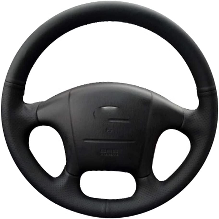 ZHHRHC Year-end gift Car Steering safety Wheel Cover for Hyundai Accessories Fit Sona