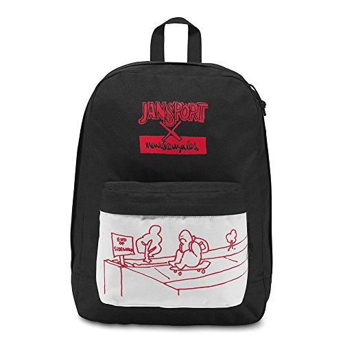 JanSport The Gonz FX Backpack - Mg X Jansport End Of Sidewalk Red Tape