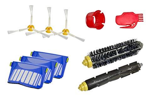 Invest Piezas de repuesto adecuadas para iRobot Roomba serie 600 Roomba 616 615 605 621 620 625 631 630 651 650 653 655 660 680 670 kit de limpieza de alta calidad irobot roomba