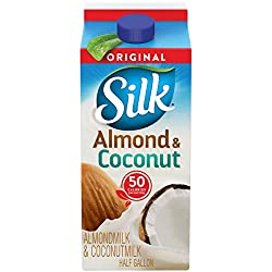 Silk Almond Coconut Blend Original Half Gallon, 64 oz