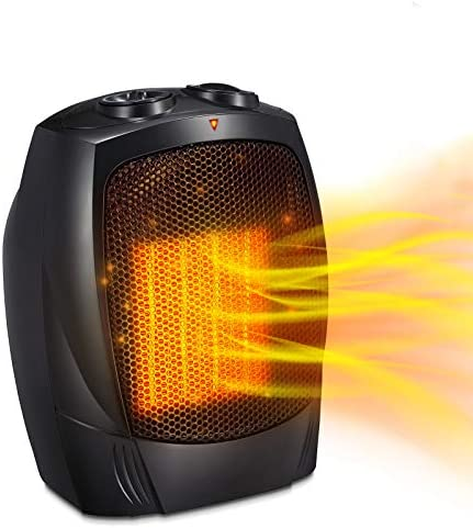 Antarctic Star Space Heater 1500W 750W ETL Certified Ceramic Small Heater with Thermostat Electric product image