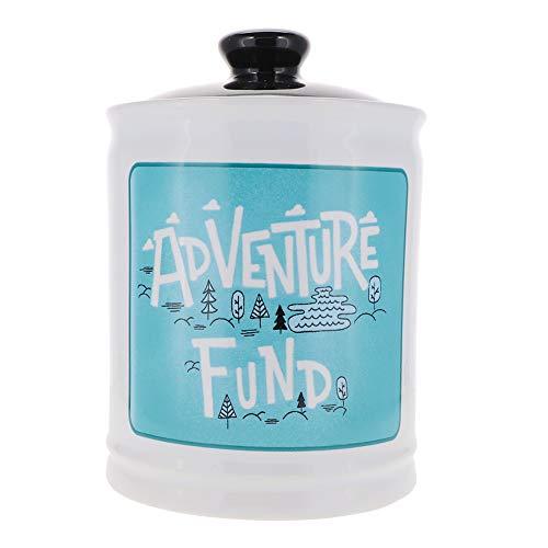 Cottage Creek Adventure Fund Jar   Our Adventure Coin Bank with Removable Black Lid   Travel Fund Jar   Adventure Jar