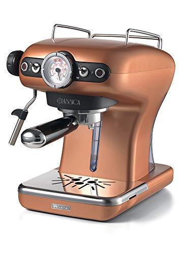 Ariete 1389/18 Classica Siebträger-Espressomaschine, 850, Kunststoff, 2 liters, Kupfer