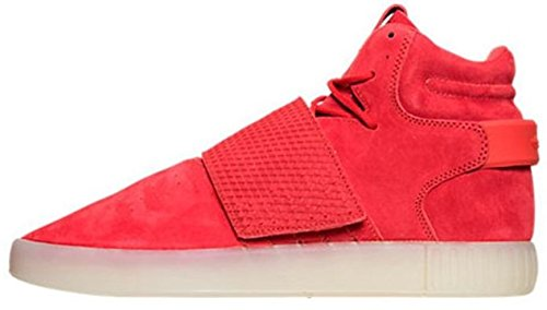 red adidas high tops - 2
