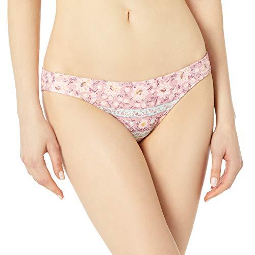 Billabong Parte inferior de bikini Lowrider para mujer - morado - Small
