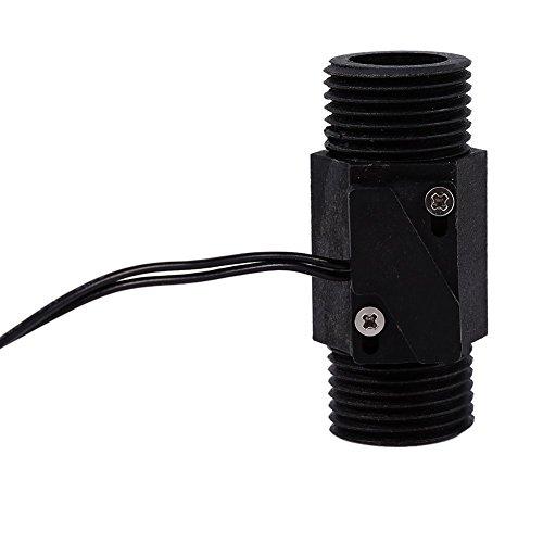 1 Stück Kunststoff Wasser Durchflussschalter Vertikale Horizontale Wasser Sensor Magnetische AC 220 V