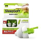 Tapones Alpine SleepSoft - Bloquea los ronquidos y mejora el sueño - Filtros suaves diseñados para...