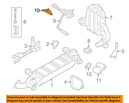 Porsche 997 111 126 30, Exhaust Bracket
