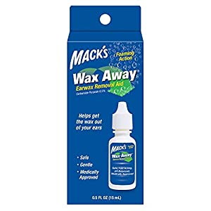 Medically-approved ear drops safely and gently remove excess ear wax (cerumen) Fast-acting agent is formulated to target earwax, and foam on contact, helping to soften, loosen and break up hardened/impacted cerumen Moisturizing agent helps loosen ear...