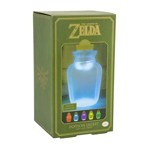 Paladone PP4931NN The Legend of Zelda - Potion Light, Multicolor, 9 x 9 x 16 cm