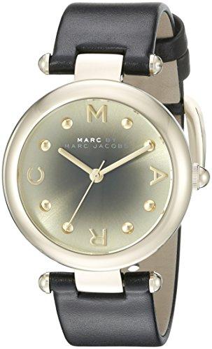 Marc by Marc Jacobs Damen Analog Quarz Uhr mit Leder Armband MJ1409