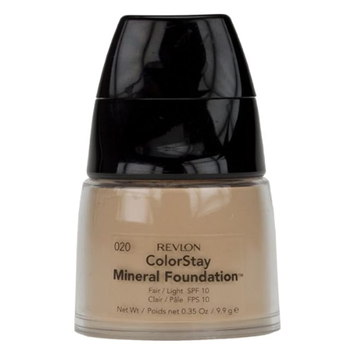 現象チャート引退したREVLON COLORSTAY MINERAL FOUNDATION #020 FAIR