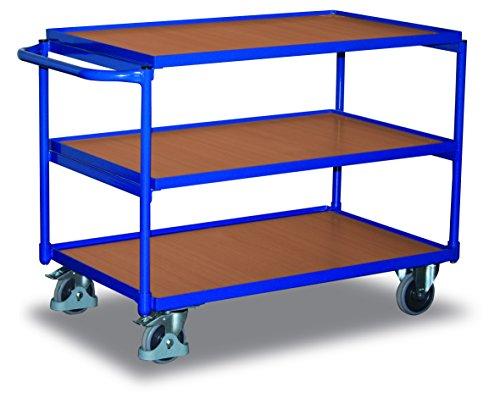VARIOFIT Tischwagen Transportwagen, Eigengewicht: 40,5 kg, Ladefläche: 850x500 mm
