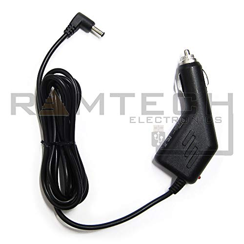 Rand McNally TND 740 Tablet GPS Car Vehicle Power Charger Adapter Cable Cord (RMC40)