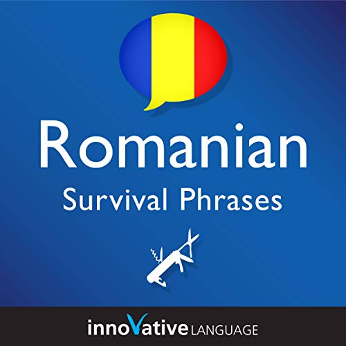 Learn Romanian - Romanian Survival Phrases, Volume 2  By  cover art