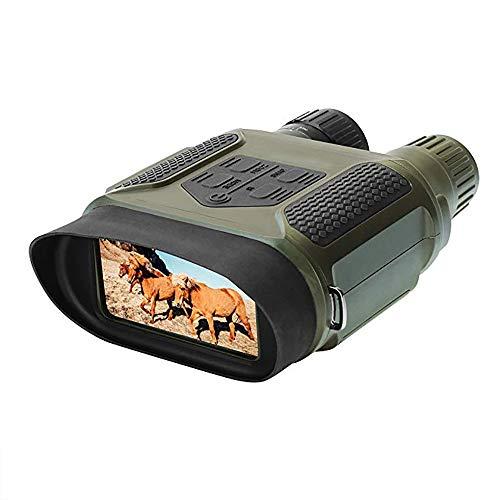 L-zp Binokulares Nachtsichtgerät Jagd Militär Infrarot mit 8GB Karte und 8 AA Batterien 7X Vergrößerung 4