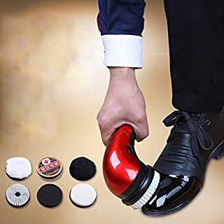 Best Design Portable Handheld Automatic Electric Shoe Brush Shine Polisher 2 Ways, Hand Held Polishers - Battery Powered Buffer, Shoe Polisher, Sanyo Shoe Polisher, Shoes Cleaner Machine