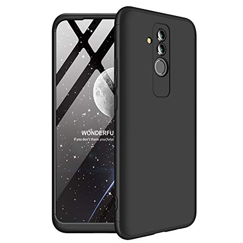 MYLB-US Compatible Huawei Honor 8X max case 3 in 1 Ultra-Thin Hard Shell PC Scratch-Resistant Ultra-Thin 360 Degree Body Protector for Huawei Honor 8X max (Black)