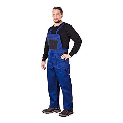Reis MMSNB_60 Multi Master Schutzlatzhose, Blau-Schwarz, 60 Größe