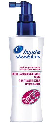 Head & Shoulders Thick & Strong Extra Haarverdickendes Tonic, 6er Pack (6 x 125 ml)