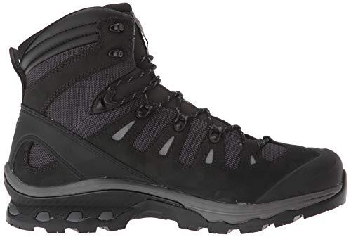 Salomon Quest 4d 3 GTX, Chaussures de Randonnée Hautes Homme, Gris (Phantom/Black/Quiet Shade 000), 43 1/3 EU