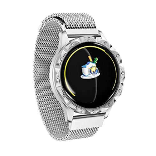Ake El Nuevo D18 Smart Watch Screen Pantalla De Color Pulsera Presión Arterial Presión En La Arteria Ratón Cardíaco Continuo Período Menstrual Femenino RECORDATORIO,A