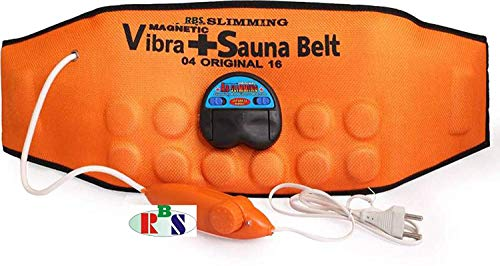 Rolgo1 Body Slimmer 3 in 1 Magnetic Vibration Plus Belt Massager Vibration Sauna Slim Belt Slimming Healthy Diet Fat Burner and Weight Loss