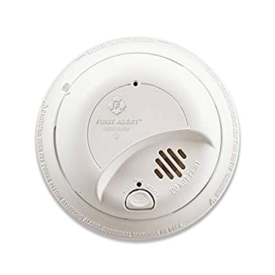 First Alert SA9120BPCN Smoke Alarm with Adapter Plugs for Easy Replacement, 1 Pack