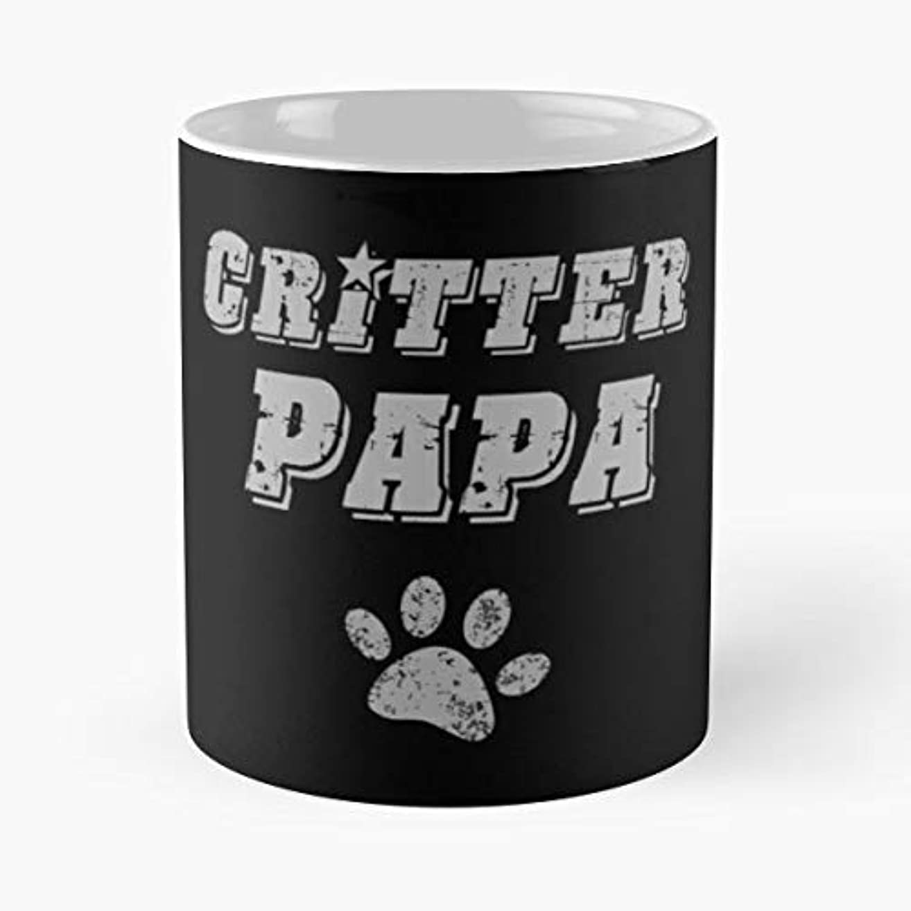 Mens Fathers Day Boxer Border Collie Coffee Mugs Unique Ceramic Novelty Cup