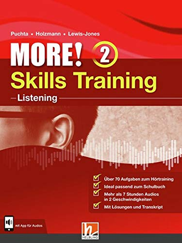 MORE! 2 Skills Training - Listening: mit App für Audios (Helbling Languages)