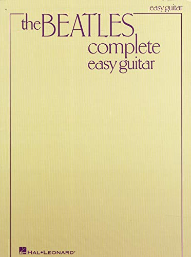 The Beatles Complete (Easy Guitar): Songbook für Gitarre