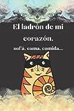 Libreta de gato - Cuaderno de Notas: Libreta de gatitos con rayas para escribir apuntes o como diario - Idea de regalo personalizado e original para amantes de los gatos. Detalle molón para cumpleaños