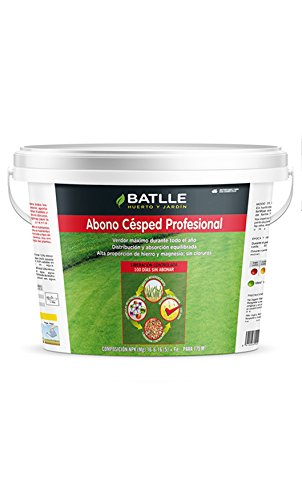 Semillas Batlle 710711UNID Engrais Professionnel pour Gazon 5 kg