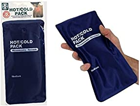 Hot & Cold Pack - Reusable Microwave Heat Ice Gel Pack Pain Relief First Aid