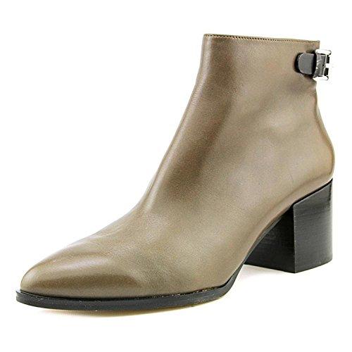 Michael Kors B8685 Bottines pour femme Donna Saylor Marrone chiaro/Nero Shoe - Marron - Elephant/Black, 40 EU